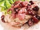 Рецепта Черешова кавърма с пилешко месо